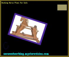Rocking Horse Plans For Sale 093925 - Woodworking Plans and Projects!