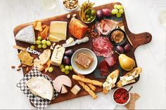 Wow your guests with a cheese-and-charcuterie board that requires minimal effort—but delivers big on personality.
