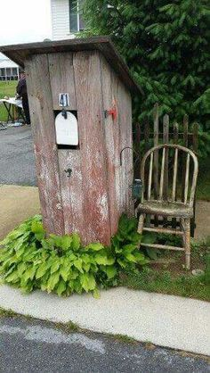 Outhouse mail....