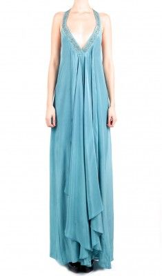 Low cut dress with beads and sequins 114€ | SAYAN