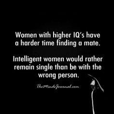 women with high iq