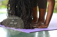 """Photo Title: ~ Know when to let go… ~  """"Uttanasana"""" - Standing Forward Bend  {Image taken during an Ashtanga Yoga workshop held at Bromley Retreat Center, in St.Ann, Jamaica}"""