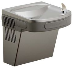 Elkay EZS8L ADA Compliant Barrier Free Water Cooler, 8 Gallons Per Hour - The Elkay EZS8L Water Cooler is Elkay's most popular water cooler. It features a barrier-free ADA design that meets both adult and child standards. Easy-touch controls are used for simple operation and increased durability. 3 Self closing buttons, one on the front and one on each side.