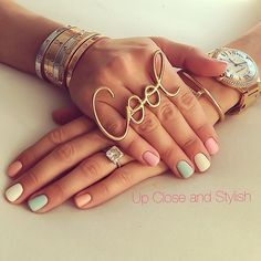 Nails and bling   .@upcloseandstylish (Up Close and Stylish) 's Instagram photos | Webstagram - the best Instagram viewer