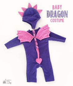 DIY Baby Dragon Costume
