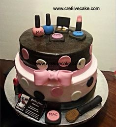 Mac cake by cre8ive cake and candy