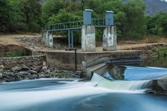 River that runs downstream from Hartebeespoort dam