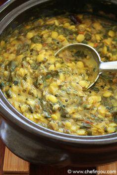 Purslane is a superfood. Lentil Dal Recipe, Lentil Recipes, Vegetarian Recipes, Healthy Recipes, Free Recipes, Japanese Street Food, Thai Street Food, Bbc Good Food Recipes, Indian Food Recipes