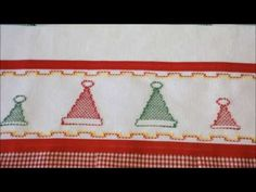 Sininho, mais uma opção para nossos bordados de final de ano. Bora bordar pro Natal.