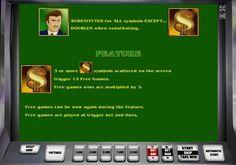 Бонусы на игровых автоматах The Money Game