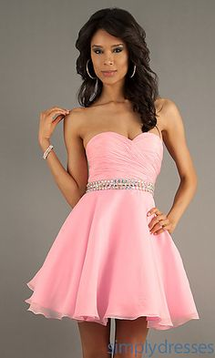 Pretty In Pink. Great Bridesmaid dress :p