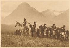 Pass Finders, Piegan by Roland W. Reed