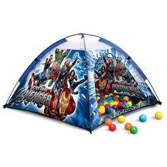 @M C Avengers Ball Pit Tent Set #PlayOutside #Hedstrom #Toys #Marvel #Avengers #BallPit #Tent #Skymall