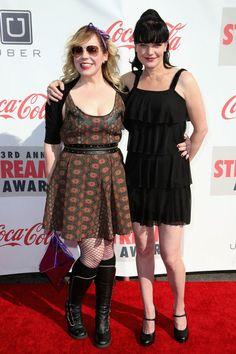 Kirsten Vangsness Girlfriend | Kirsten Vangsness Actresses Kirsten Vangsness and Pauley Perrette ...