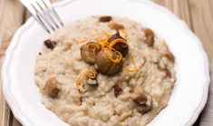 chestnut risotto (D) Marcia Selden Catering Jewish Recipes, Italian Recipes, New Recipes, Vegan Recipes, Eat Seasonal, Kosher Recipes, Learn To Cook, Everyday Food, Ideas