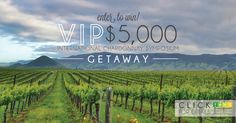 Enter to Win the VIP $5,000 Chardonnay Symposium Getaway, May 12-14, 2016! The International Chardonnay Symposium brings top Chardonnay producers from around the world to the classic Californian beach towns of Pismo Beach & Avila Beach and the Edna Valley wine country for an in-depth exploration of the world's favorite grape and its impact on viticulture, tastemakers and the market.