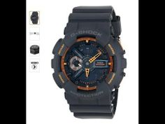Casio Men's GA-110TS-1A4 G-Shock Analog-Digital Display Quartz Grey Watc...  Casio G-Shock GA-110TS-8A2CR Neon Grey-Blue Men Watch, http://www.amzn.com/exec/obidos/ASIN/B00J5PYFD4/httpallpopula-20