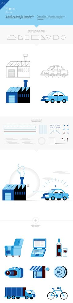 BBVA Corporative Illustration on Behance