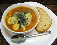 The Well-Fed Newlyweds: Tortellini Soup