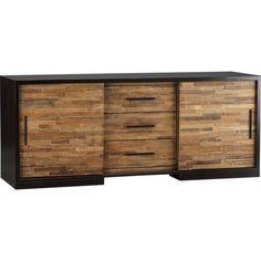"Seguro 68"" Media Console in TV Stands & Media Consoles   Crate and Barrel"