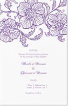floral flowers Invitations & Announcements