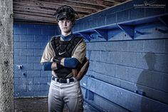Senior picture idea for Jordan~ Baseball/catcher