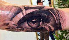 #tattoostudio #nadelwerk #eye #sleeve #blackandgrey #realistic #tattoo