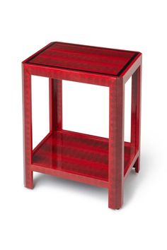 red snakeskin side table (TimelessAccessories)