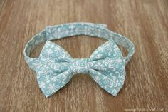Little Boy Bowtie: the QUICK and EASY version --- Make It and Love It
