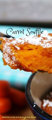 Carrot Souffle... just like at Piccadilly!  #kidfriendly #easterrecipes #easy #sidedish #vegetables #stepbystep #menumusings