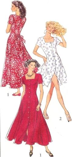 This post may contain affiliate links. Sew pretty dresses with these FREE Dress Patterns from PrintSew. These patterns are from the big pattern making companies McCalls Simplicity Kwik Sew and Neue Mode. Below are some of the FREE patterns included Read Vintage Dress Patterns, Dress Sewing Patterns, Free Sewing, Vintage Sewing Patterns, Dress Patterns Women, Dress Pattern Free, Dress Paterns, Sewing Paterns, Shirt Dress Pattern