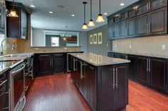 Expresso Maple Cabinets