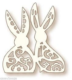 Wild-Rose-Studio-Specialty-Craft-Die-Bunny-Love-Rabbits-067-New-Out