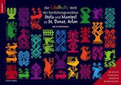 ARLON Stola Manipel Hl. Bernhard von Clairveaux Brettchenweben tablet weaving kaartweven die fabelhafte Welt