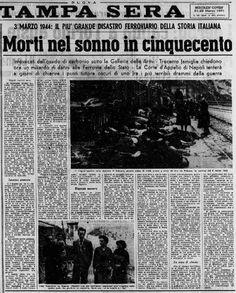 3 marzo 1944 - Tragedia di Balvano (Potenza)