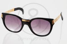 Image of Gianfranco Ferre GFF 16 black :: Vintage Sunglasses