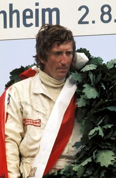 Jochen Rindt (AUT) Lotus celebrates his fourth GP victory in succession on the podium. F1 Motor, Jochen Rindt, Gilles Villeneuve, Lancia Delta, Formula 1 Car, Racing Events, F1 Drivers, F1 Racing, Sports Stars