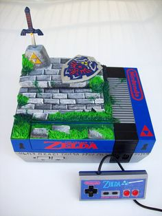 Legend of Zelda Custom NES by mbtaylorproductions
