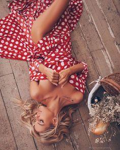 Save From Instagram, Dot Dress, Lady In Red, Bikinis, Swimwear, Polka Dots, Classy, One Piece, Chic