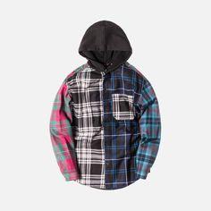 Alexander Wang Tartan Hooded Shirt - Multi