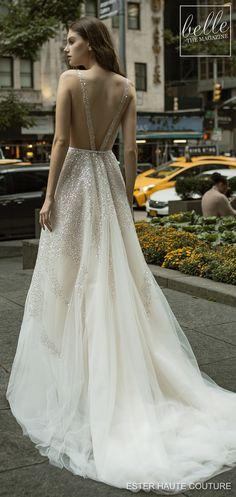 6d7e18f5f00 Ester Haute Couture Wedding Dresses 2019