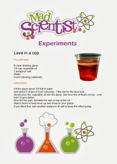 Penny's Parties: Mad Scientist Party Really detailed post with great activities Science Experiments Kids, Science Fair, Science For Kids, Science Projects, Activities For Kids, Science Week, Science Activities, Science Stations, Stem Science
