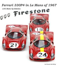 Ferrari 330P4 in Le Mans of 1967