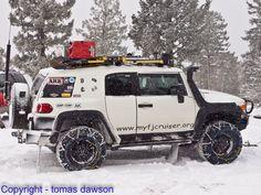 Fun in the Snow as FS Volunteers | My Toyota FJ Cruiser