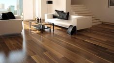 Can you believe it- this wood floor is actually made of cork!