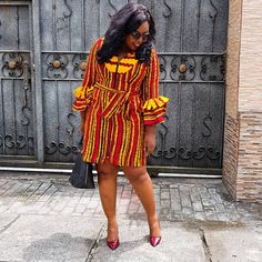 The Janey Still Available in just a few pieces. Price NGN 9500 Whatsapp or DM to order African Dresses For Women, African Print Dresses, African Print Fashion, Africa Fashion, African Attire, African Fashion Dresses, African Clothes, Ankara Fashion, African Women