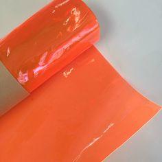 Tinted Glow Edge Vinyl - Neon Orange
