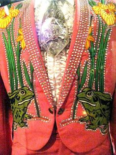 Nudie suit and shirt for Hank Snow