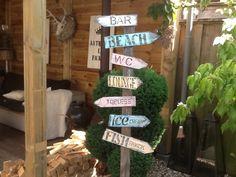 Leuk voor een beach tuin!