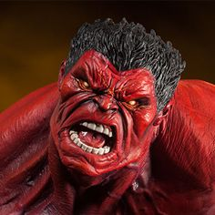 Marvel Red Hulk Premium Format(TM) Figure by Sideshow Collec | Sideshow Collectibles